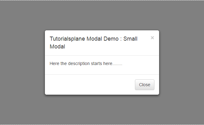 Bootstrap modal vertical align center css example - Css display table tutorial ...