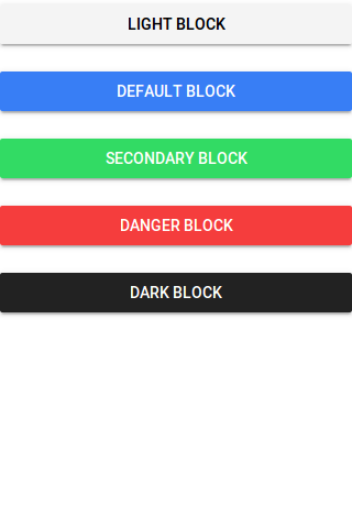 Ionic 2 Block Buttons Example