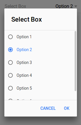 Ionic 2 Select Dropdown | Multiselect Options Checkbox Example