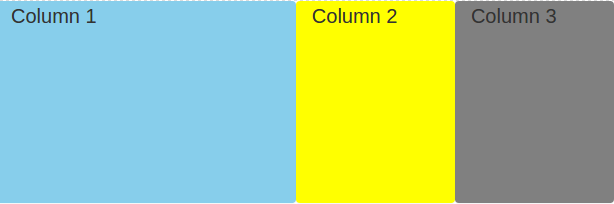 Bootstrap create column height same